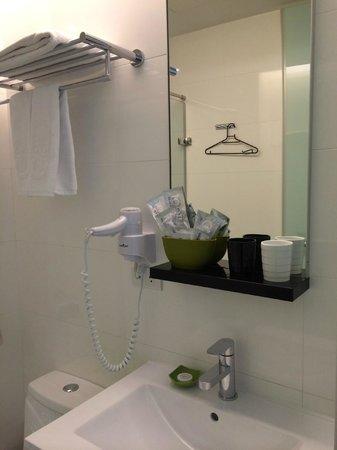 CityInn Hotel Plus - Taichung Station Branch: Bathroom amenities
