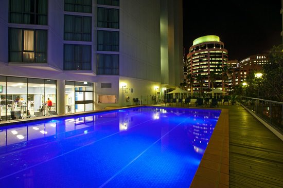 Novotel Brisbane: The Pool