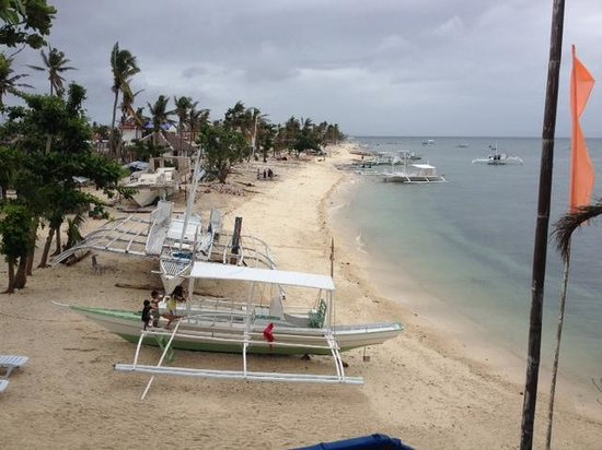Blue Corals Beach Resort : 2Fのレストランからのビュー