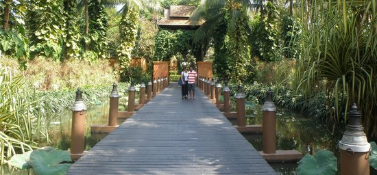 "Anantara Bophut Koh Samui Resort: The ""drawbridge"" at the entrance to the property"