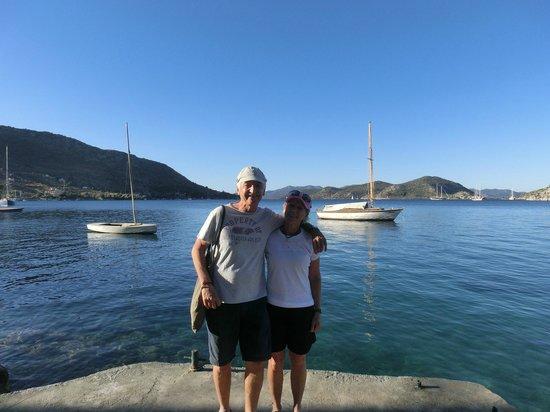 Karia Bel' Bozburun: The view from the pontoon