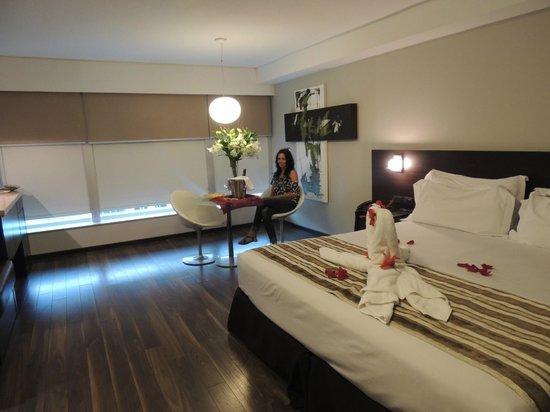 My Suites: Habitación doble con cama extra grande (Solicitada y ofrecida sin costo adicional)