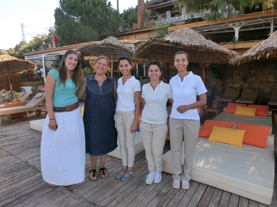 Karia Bel' Hotel & Restaurant: Beliz and her wonderful staff