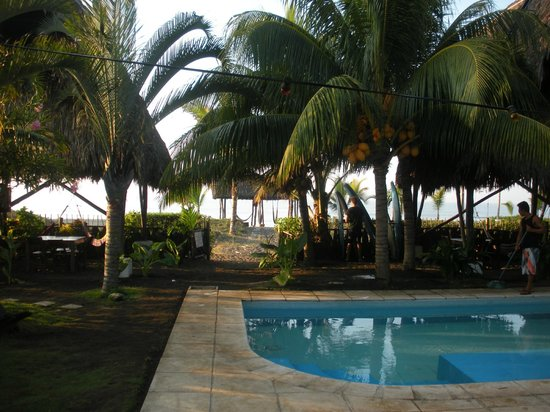 Paredon Surf House : From the pool to the beach