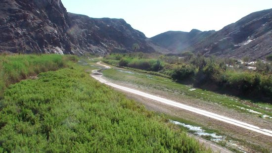 Purros Camp: up the river from Puros