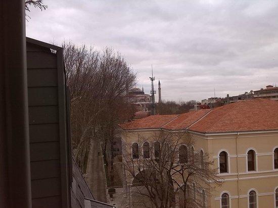 Levni Hotel & Spa: vista santa sofia