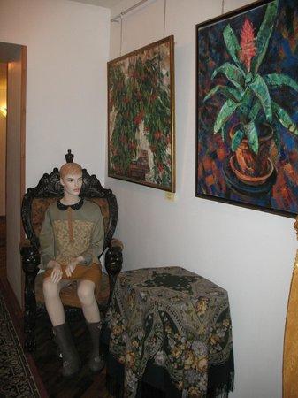 Rachmaninov Art-Hotel : такая красота в коридорах