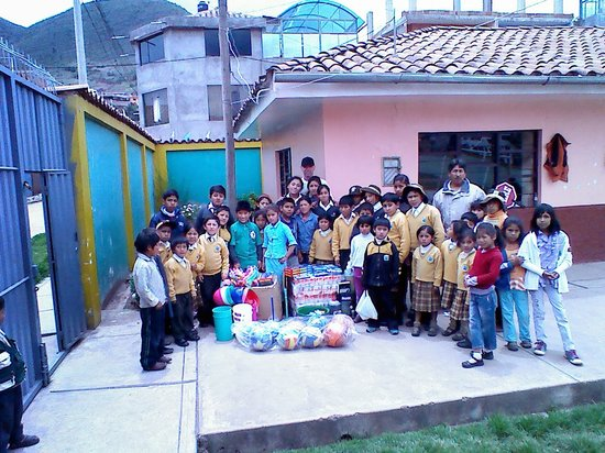 Peru path activities with our schools and kids