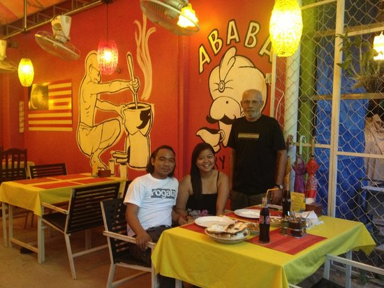 With the owner of ABABA Curry House, a must try resto in Siem Reap.