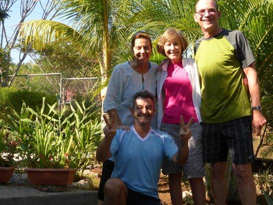 Casa Buenavista: Backyard good bye