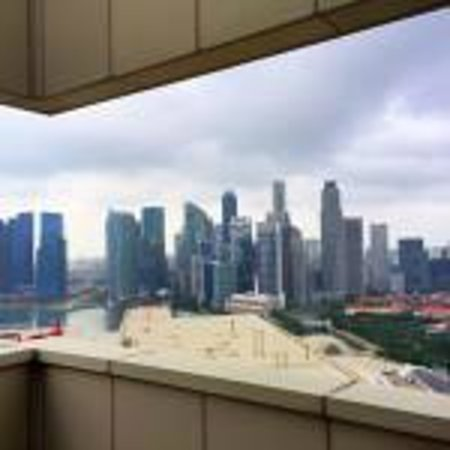 Pan Pacific Singapore : View form the Club
