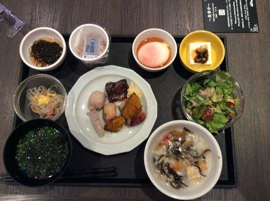 Hotel Dormy Inn Nagasaki : 私のチョイスした朝食