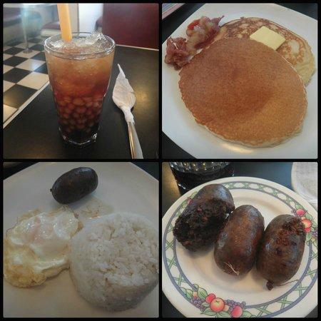 Hotel Tiffany Laoag: Breakfast at Macy's Diner