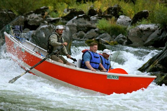 Helfrich River Outfitters, Inc.: Fun Whitewater in a Drift Boat - Helfrich River Outfitters - Rogue River, Oregon