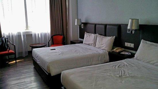 Hotel Sentral Melaka: 2's Queen size bed