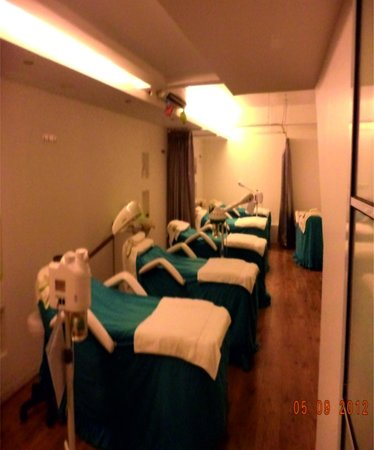Manicure & Pedicure Area at ESKA Mega Mall - Picture of ...
