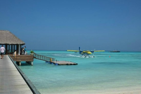 Niyama Private Islands Maldives: Seaplane