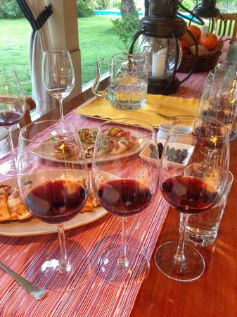 Conalbi Grinberg Casa Vinicola: Wine tasting and great food