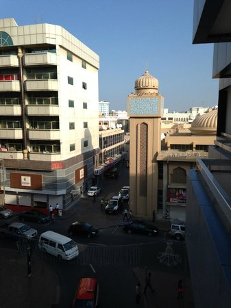 Dubai Nova Hotel: Udsigten
