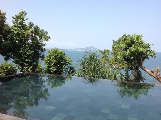 The Kala Samui: udsigt fra swimmingpoolen