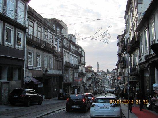 Castelo de Santa Catarina : Santa Catarina street