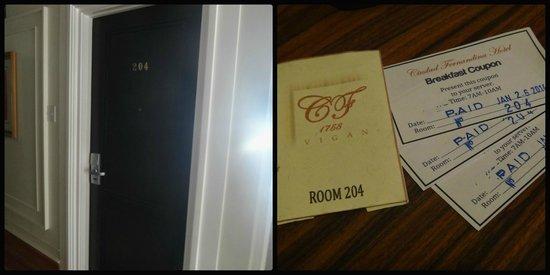 Ciudad Fernandina Hotel : our room