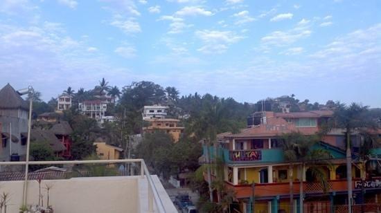 Hotel Eden Sayulita: vista desde la terraza...
