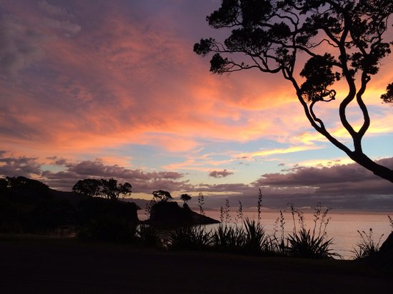 Shoal Bay Estate, Great Barrier Island: Beautiful sunset