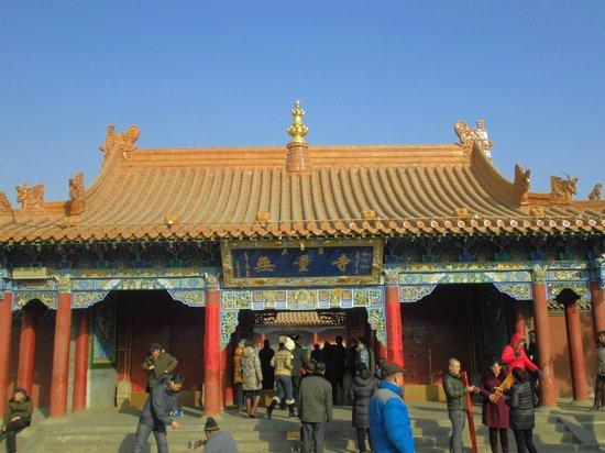 Dazhao Temple: 入口
