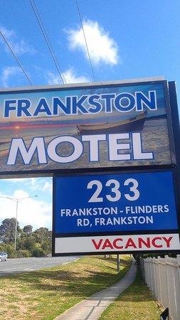 Frankston Motel Sign