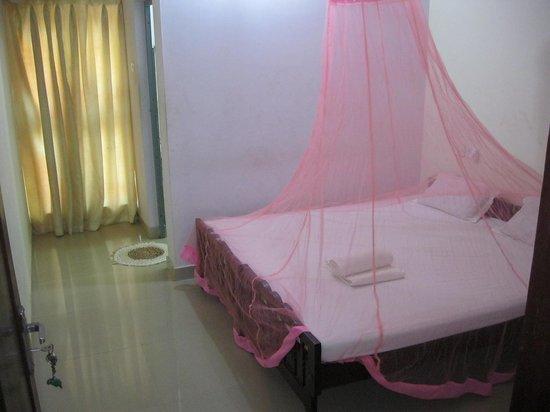 La Maison de Varkala: Rooms with mosquito net