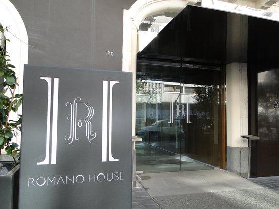 Hotel Romano House: Hotel Entrance