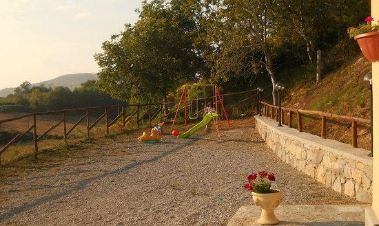 Mormanno, Italie : parco giochi