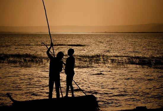 Awasa, Etiopia: Stunning view of Lake Hawassa
