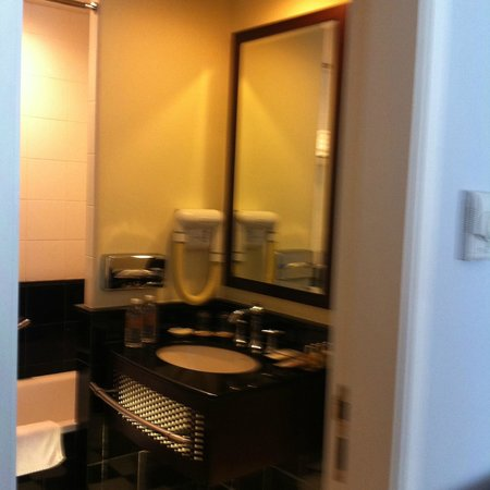 Copthorne King's Hotel Singapore: bathroom view