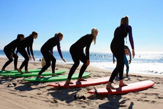 Cascais Surf School & Surf Camp: Take-off
