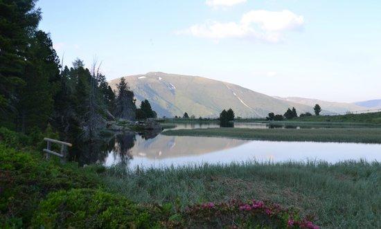 Bauernhof Ottingerhof: Windebensee auf der Nockalmstrasse, nicht weit von uns