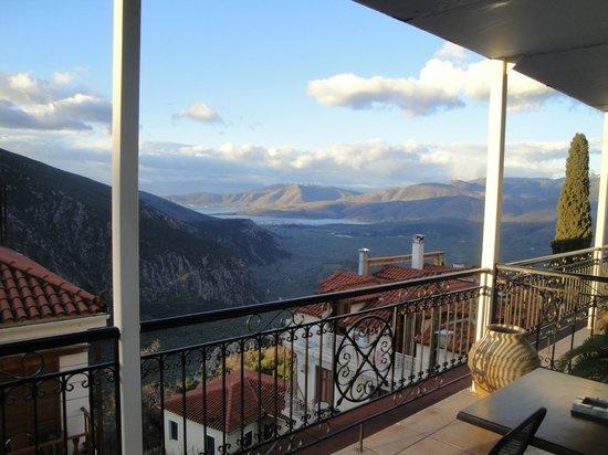 Aeolos Hotel: Η θέα μας...