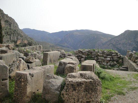 Aeolos Hotel: Αρχαιολογικός χώρος Δελφών