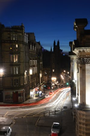 Fraser Suites Edinburgh: View from the living room area