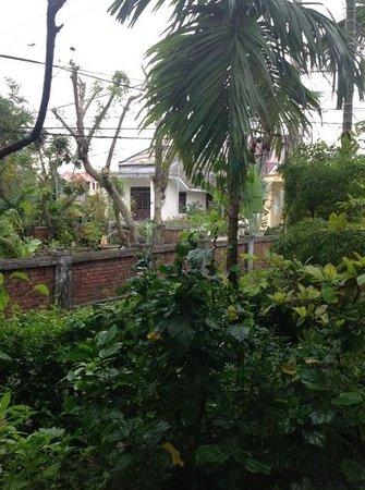Betel Garden Villas: view from family room balcony