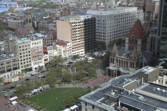 The Westin Copley Place, Boston : Copley Square from above
