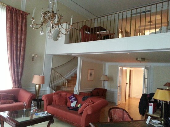 Palais Coburg Hotel Residenz : Gesamtüberblick Imperial Suite