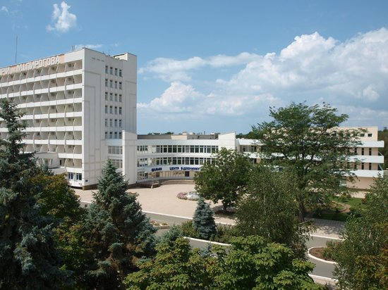Saki Central Military Sanatorium Named After N.I. Pirogov : Основной спальный корпус