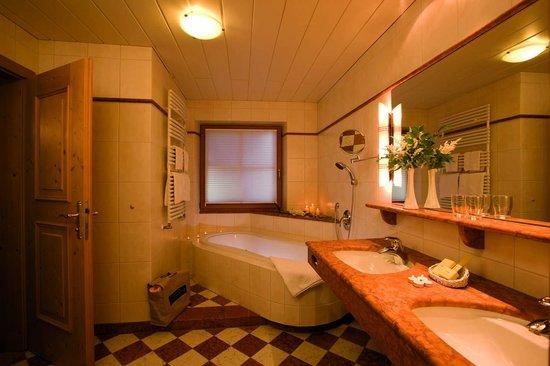 Hotel Gaspingerhof: Badezimmer