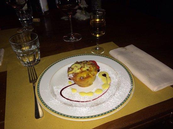 Boccanegra: Tortino di mele con crema