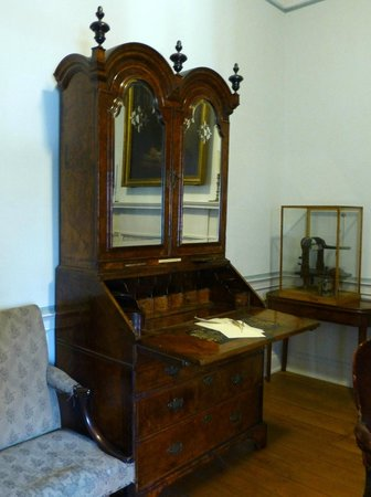 Wesley's Chapel & Museum of Methodism: Charles Wesley's desk
