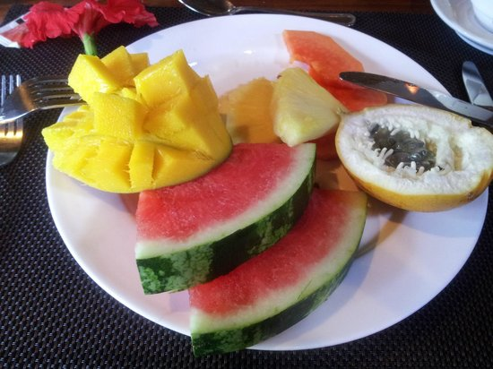Hotel Shawandha Lodge: Breakfast