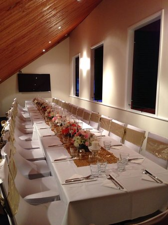 Volare Restaurant : Upstairs private room just before the party!!