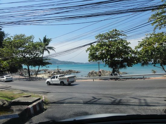 The KEE Resort & Spa: Up the road from the Key Hotel Patong Beach seen from side road.